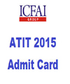 Admission Test for IcfaiTech (ATIT) 2015