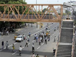 Foot Over Bridges to be Constructed Over Main Crossings in Dehradun