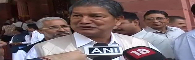Harish Rawat orders police officials to review law and order situation