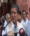 Ailing Rawat files nomination for bypoll through proposers