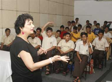Students taught the tricks of Personality Development