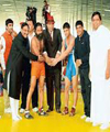 Baba Ramdev showcases wrestling skills on his ashram's 20th foundation day